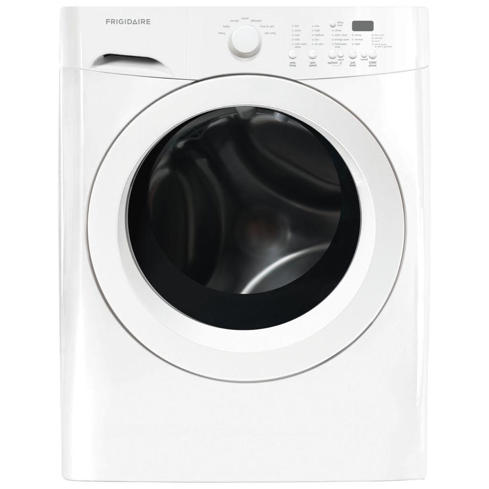 Frigidaire 3.9 cu. ft. High-Efficiency Front Load Washer in Classic White, ENERGY STAR