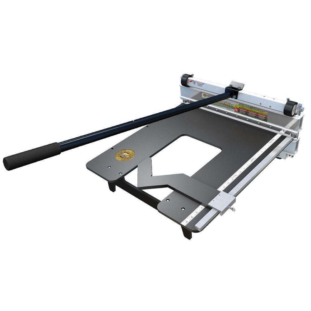 Bullet Tools 20 in. MAGNUM Soft Flooring Cutter for Vinyl Tile, Carpet Tile and More