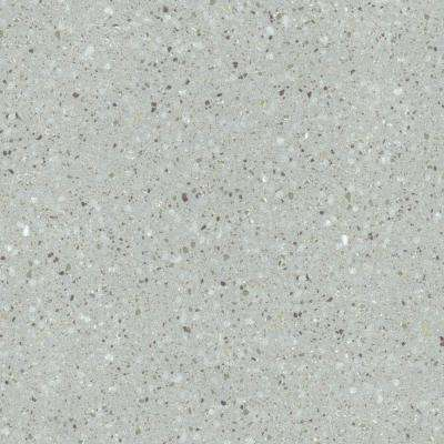 2 in. x 2 in. Solid Surface Countertop Sample in Blue Pebble