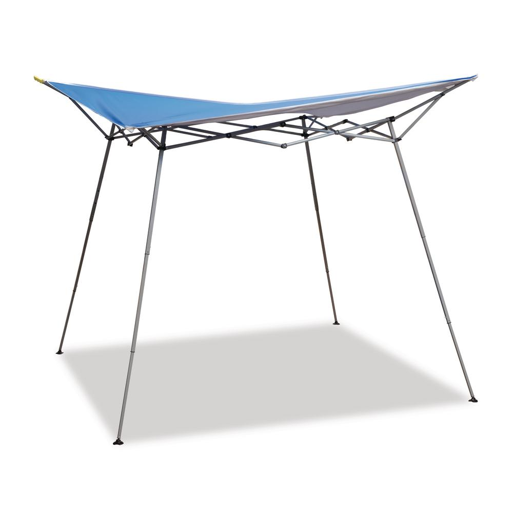 Evo Shade 8 ft. x 8 ft. Blue Instant Canopy  sc 1 st  The Home Depot & Shade Tech ST64 8 ft. x 8 ft. Straight Leg Instant Patio Canopy in ...