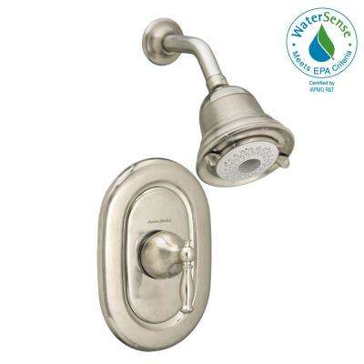 Quentin FloWise Pressure Balance 1-Handle Shower Faucet Trim Kit in Brushed Nickel (Valve Sold Separately)