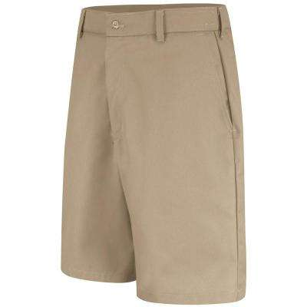 Men's Size 28 in. x 12 in. Khaki Cell Phone Pocket Short