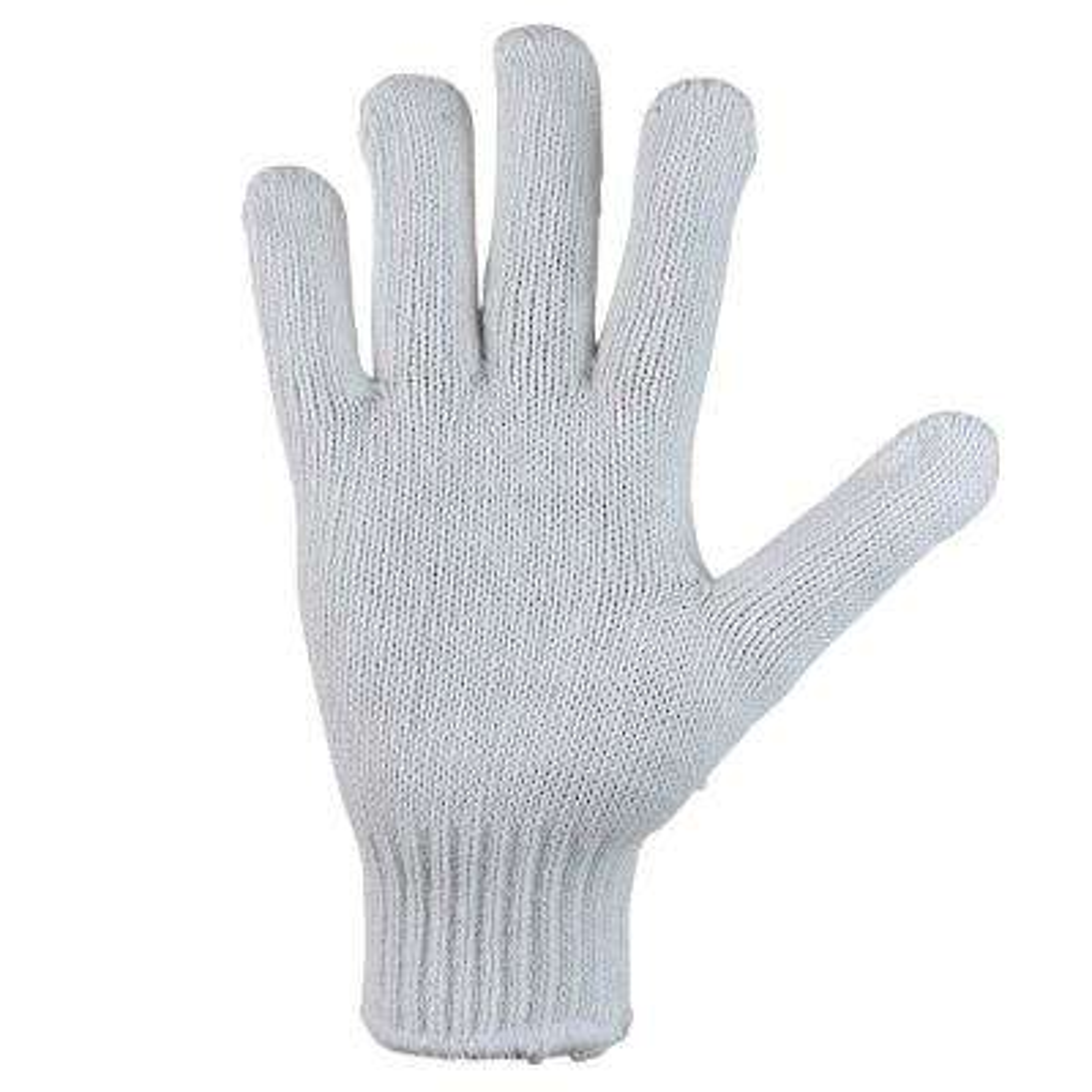 Knit Cotton Work Gloves, Heavy-Weight 7-Gauge (Case of 72 Pairs)