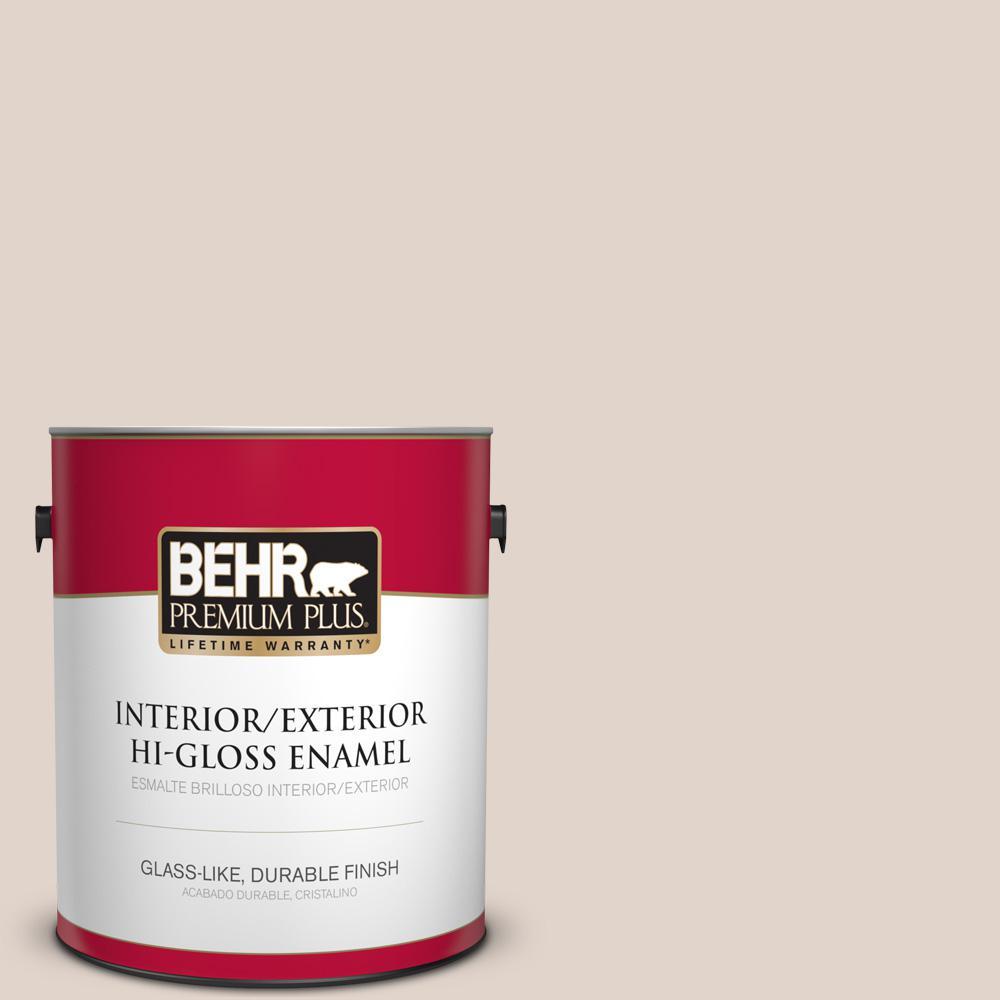1 gal. #PPU2-05 Sheer Scarf Hi-Gloss Enamel Interior/Exterior Paint