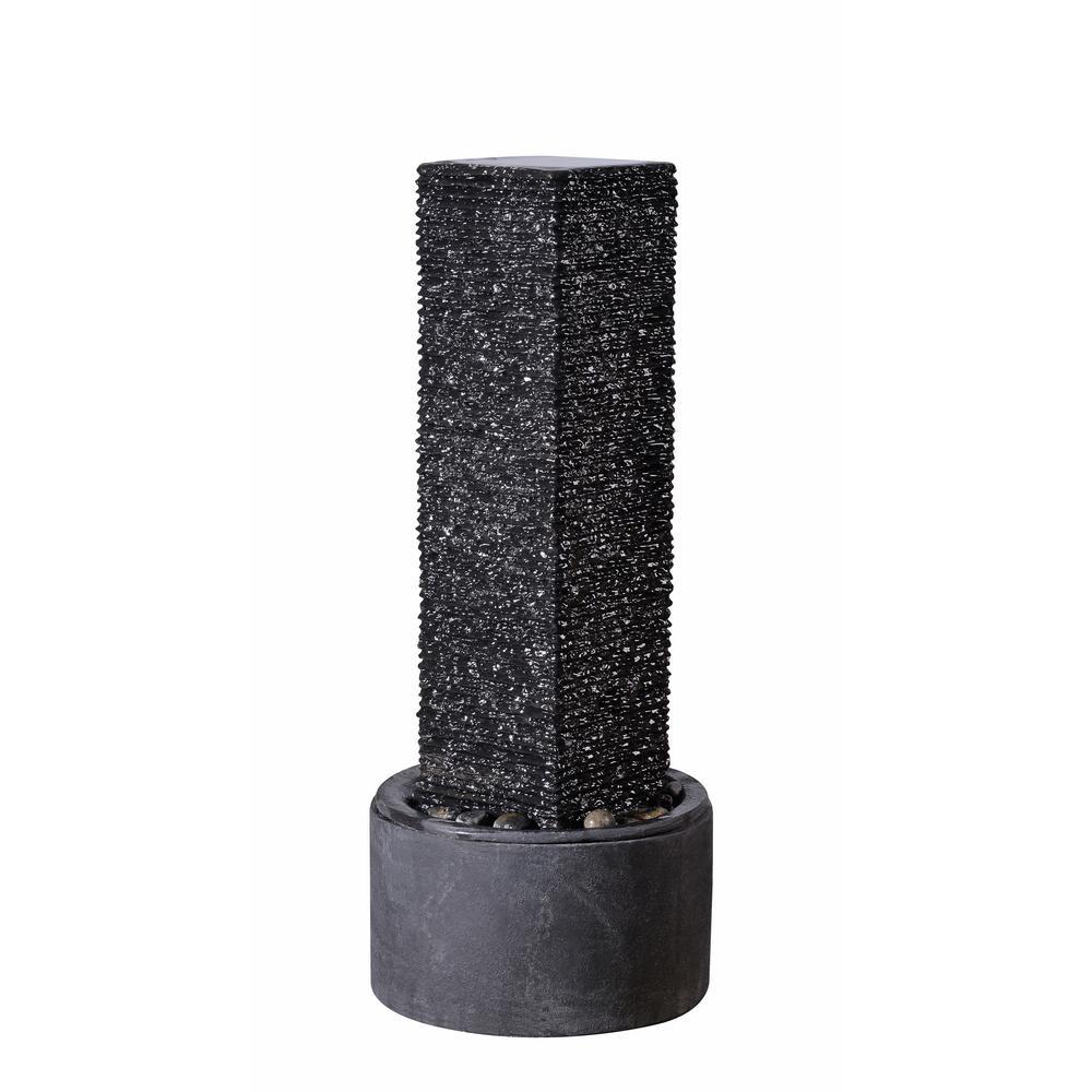 Ridgeland Resin and Concrete Outdoor Floor Fountain