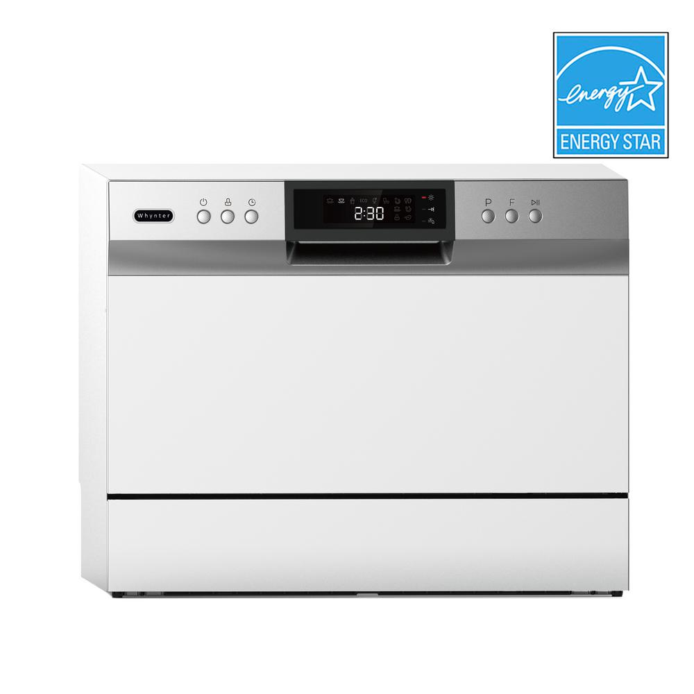 Whynter Energy Star Countertop Portable Dishwasher 6 Place Setting