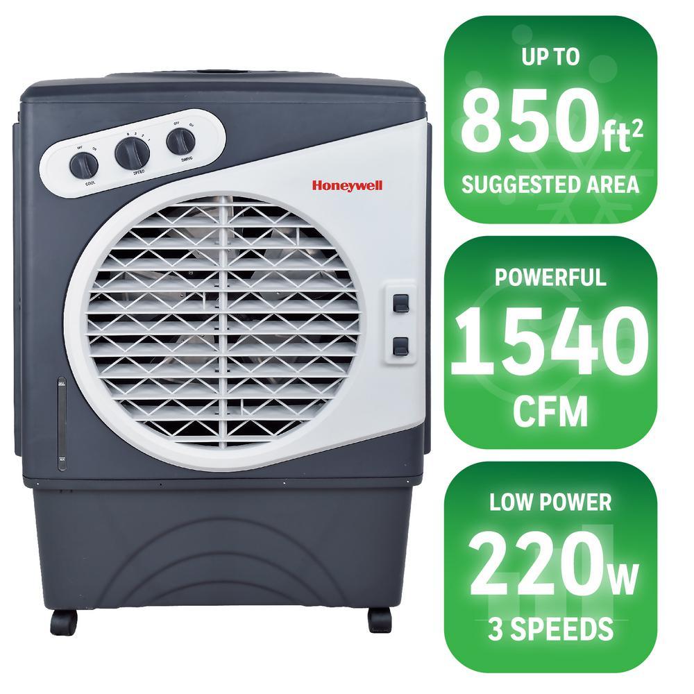 1540 CFM 3-Speed Portable Evaporative Cooler for 850 sq. ft.