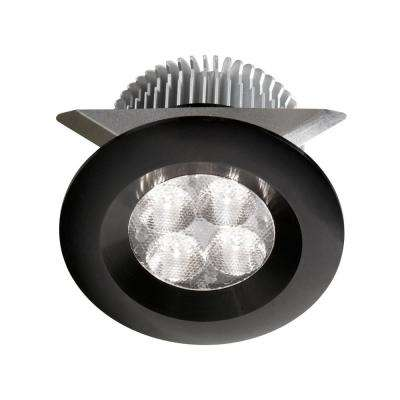 2.37 in. LED Black Under Cabinet Light