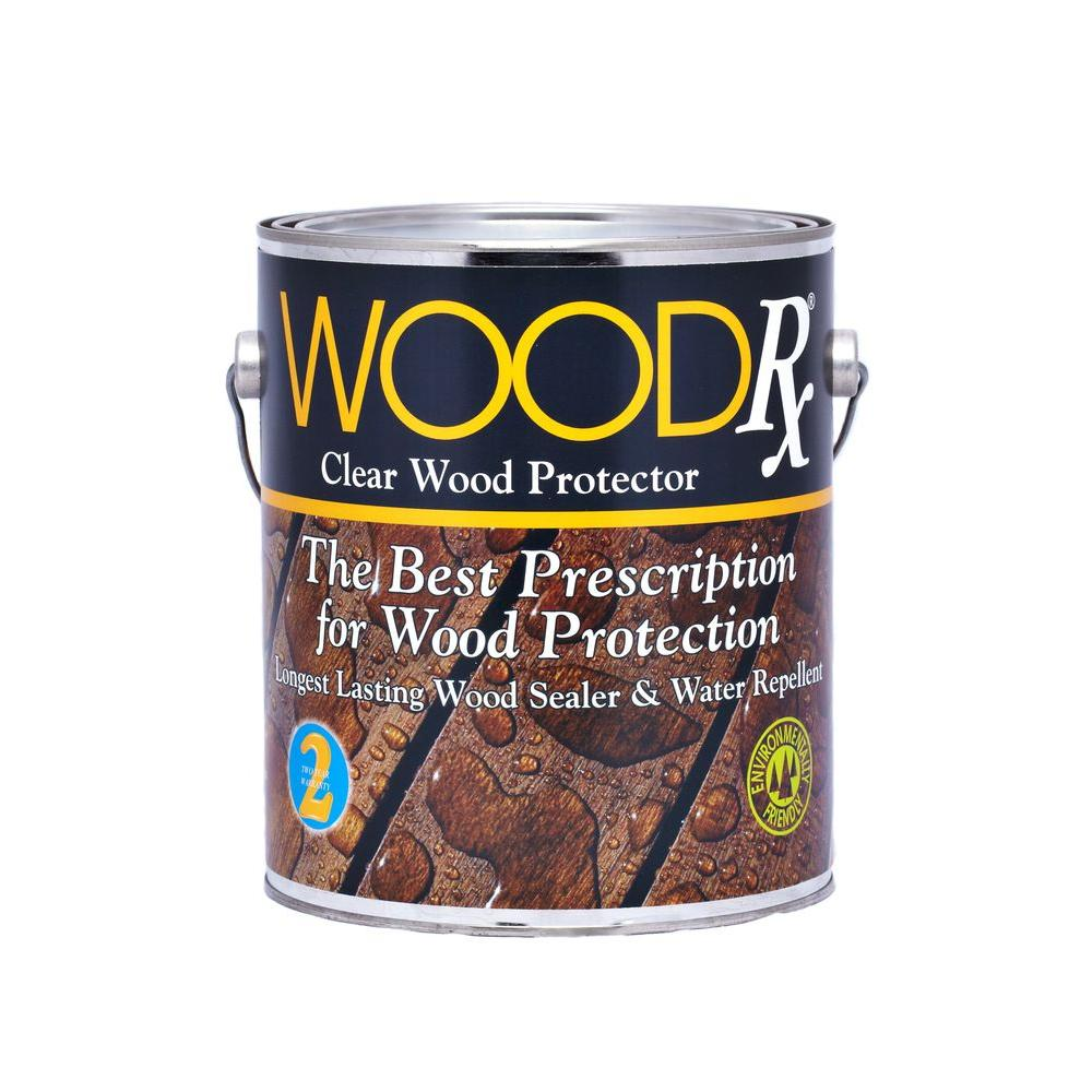 1 Gal Wood Water Repellent Clear Sealer Wet Dry Sealant