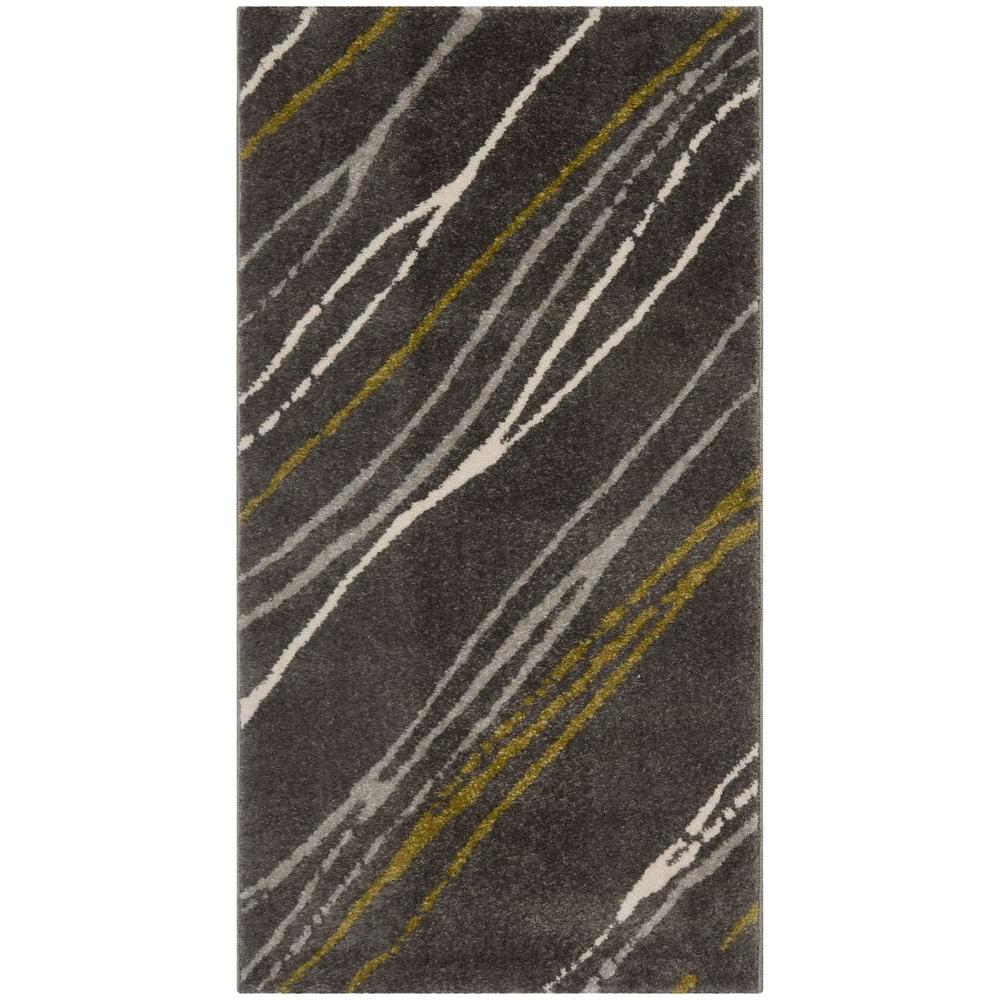 Porcello Dark Grey 2 ft. 7 in. x 5 ft. Area
