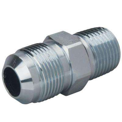 5/8 in. O.D. Flare (15/16-16 Thread) x 1/2 in. MIP Steel Gas Fitting