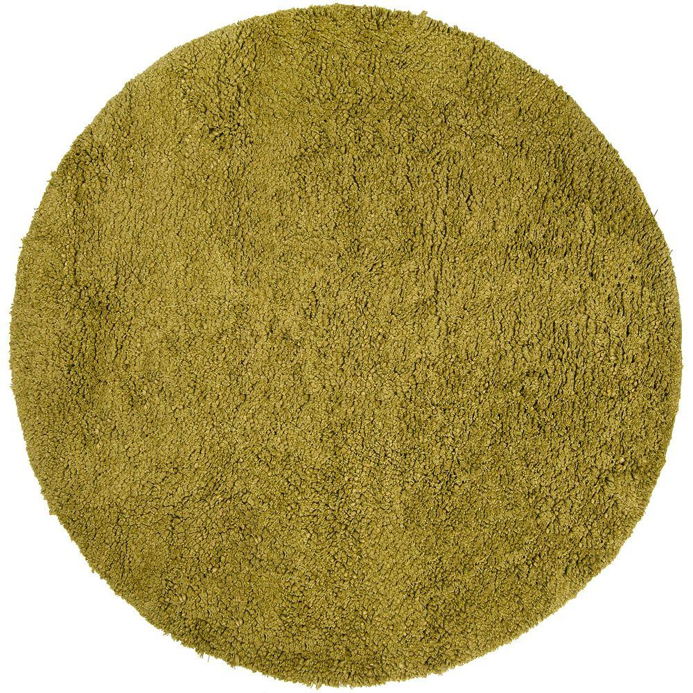 Artistic Weavers Couderay Lime 8 ft. Round Area Rug