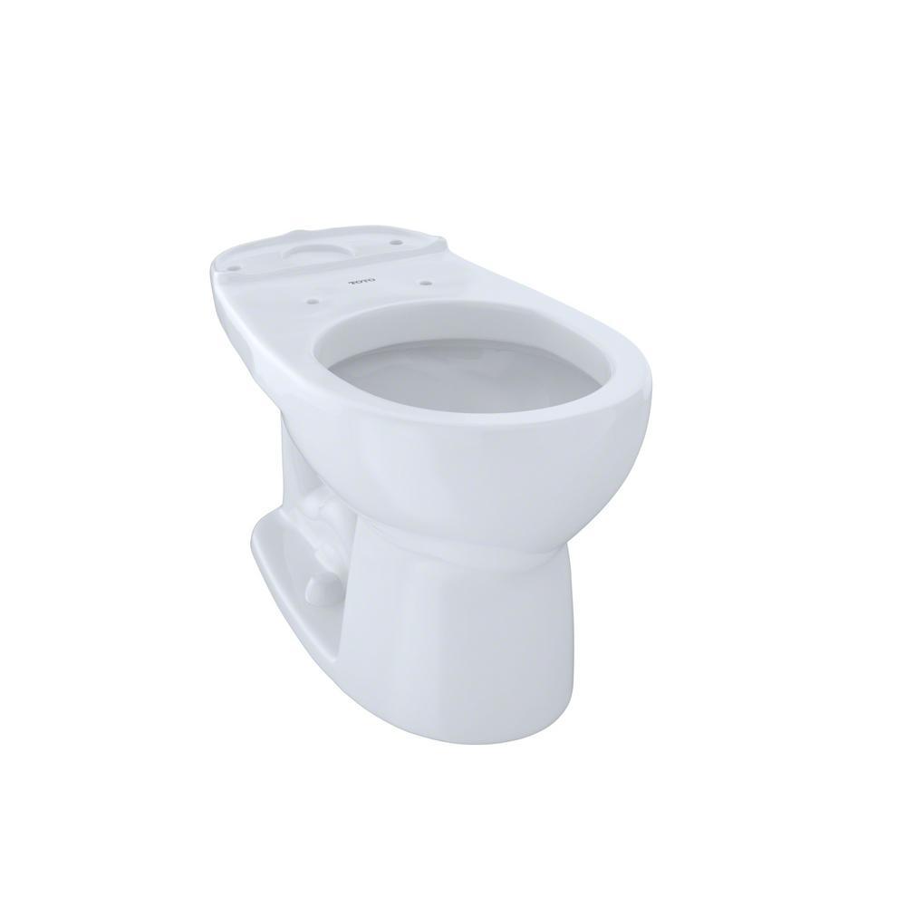 TOTO Eco Drake Round Toilet Bowl Only in Cotton White-c743e#01 - The ...