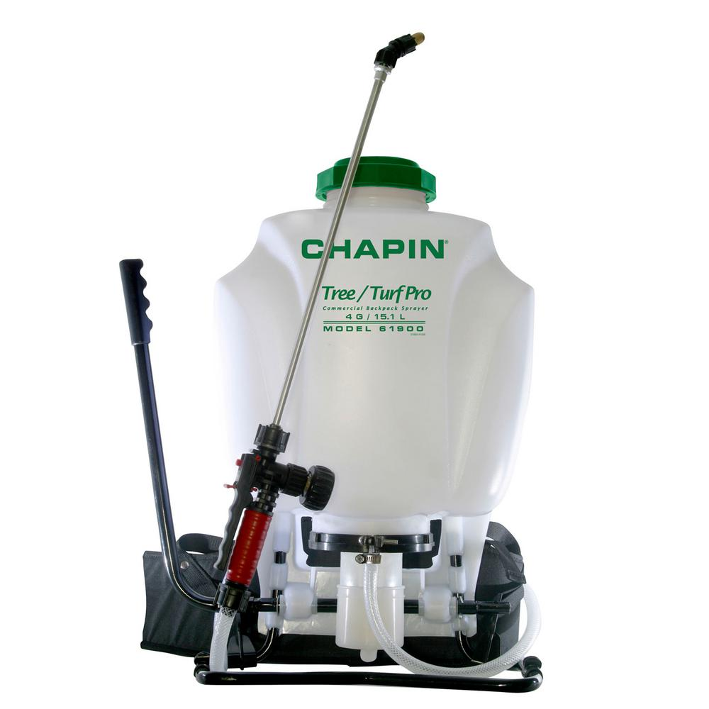 Chapin Chapin 4 Gal. Tree and Turf Pro-Commercial Backpack Sprayer with Steel Wand