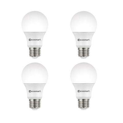 40-Watt Equivalent A19 Dimmable Energy Star LED Light Bulb Daylight (4-Pack)
