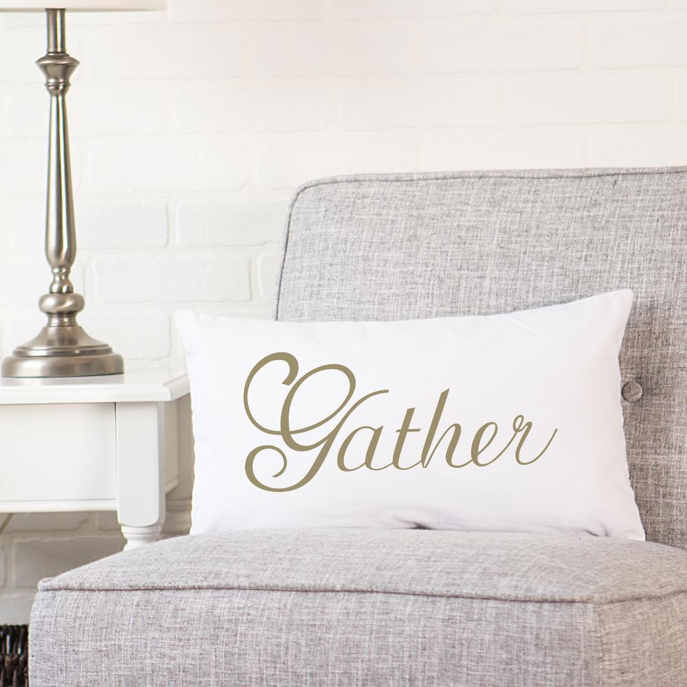 Cathy's Concepts 9 in. Gather Lumbar Pillow