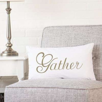 9 in. Gather Lumbar Pillow