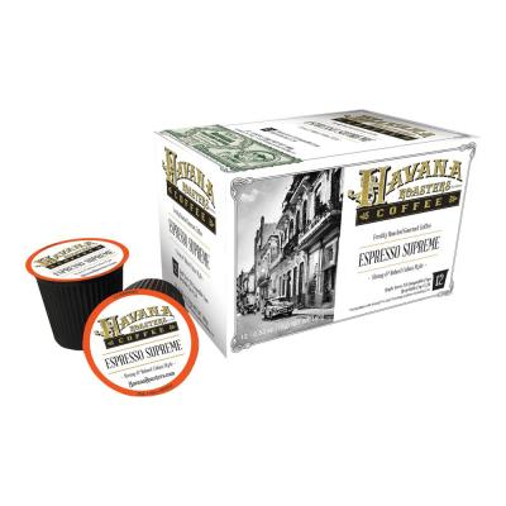 12's Espresso Supreme Coffee K-Cups/Pods (6 Boxes)
