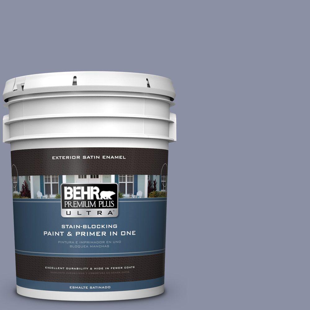 BEHR Premium Plus Ultra 5-gal. #S550-4 Camelot Satin Enamel Exterior Paint