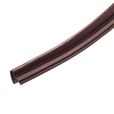 3/4 in. x 1/2 in. x 84 in. Brown Elite Lifetime Door Weatherseal Replacement