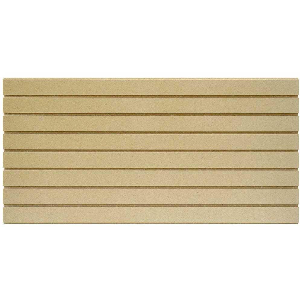 2 ft. x 4 ft. Paintable Slatwall Easy Panel (2-Piece per Box)