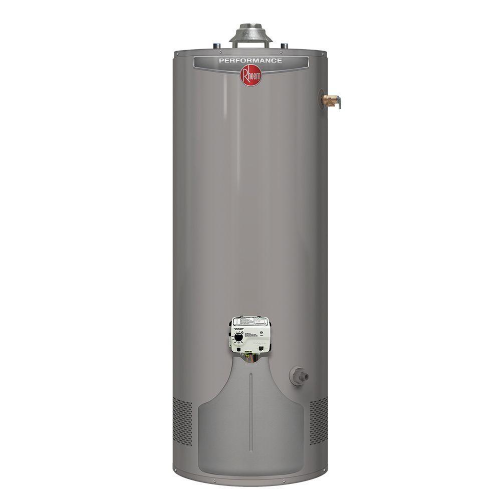 Performance 38 Gal. Short 6 Year 36,000 BTU Ultra Low-NOx Natural Gas Water Heater