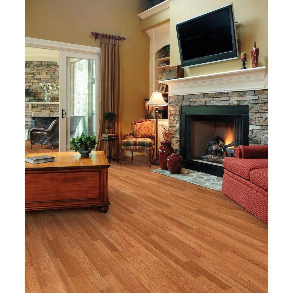 Trafficmaster 32686 Gladstone Oak 7 Mm, Trafficmaster 7mm Laminate Plank Flooring