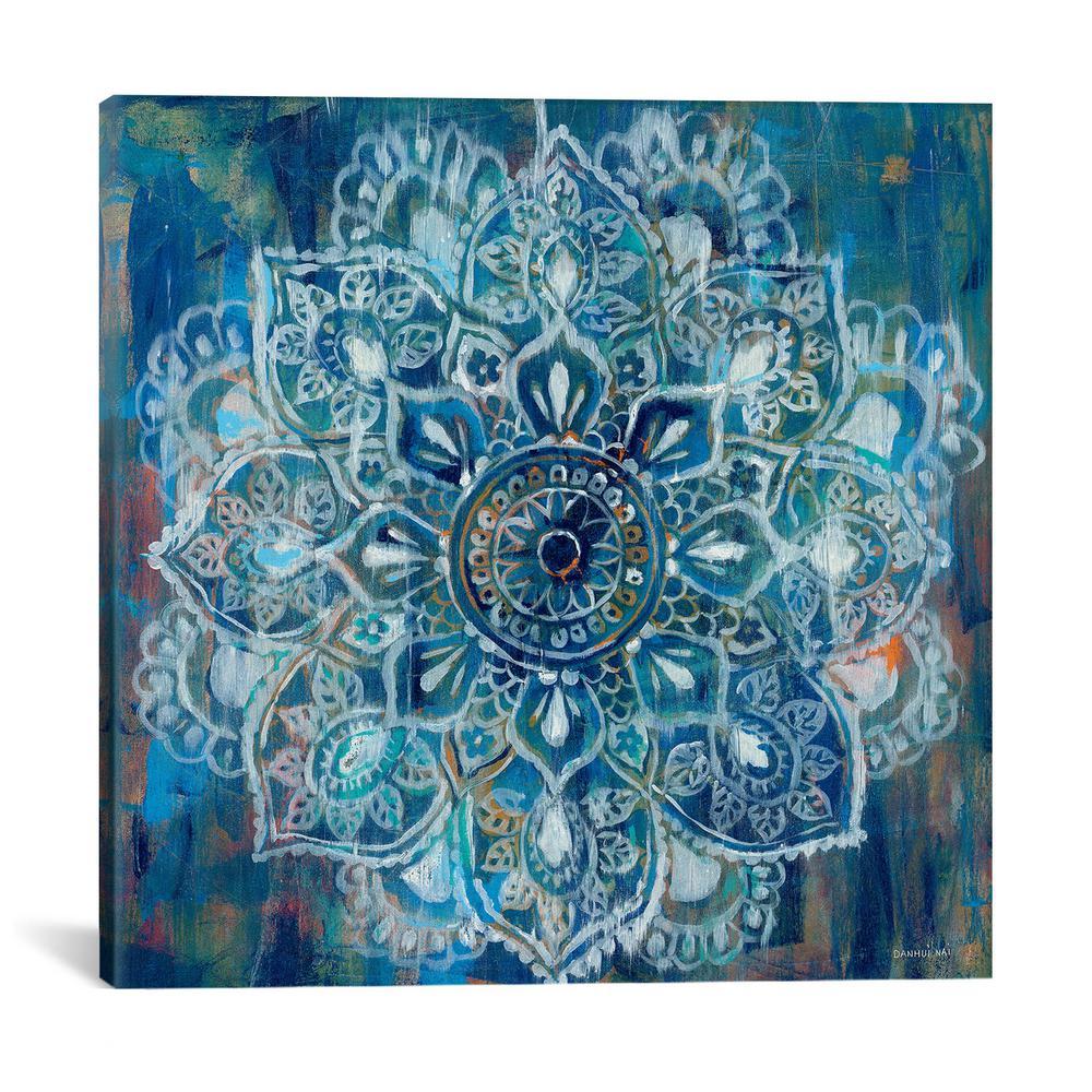 Mandala in Blue II by Danhui Nai Wall Art