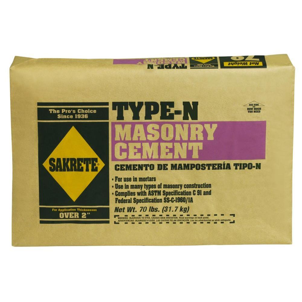 SAKRETE 70 lb. Type-N Masonry Cement