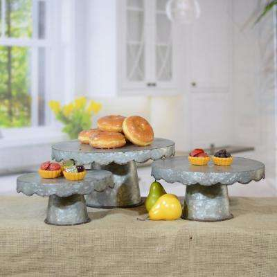 Metal Round Stand (Set of 3)