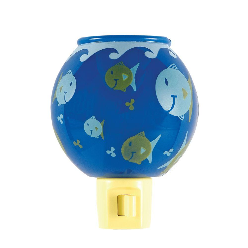 GE Manual Incandescent Fish Bowl Night Light-DISCONTINUED