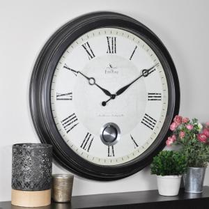 FirsTime 24-in. Round Adair Wall Clock 25605