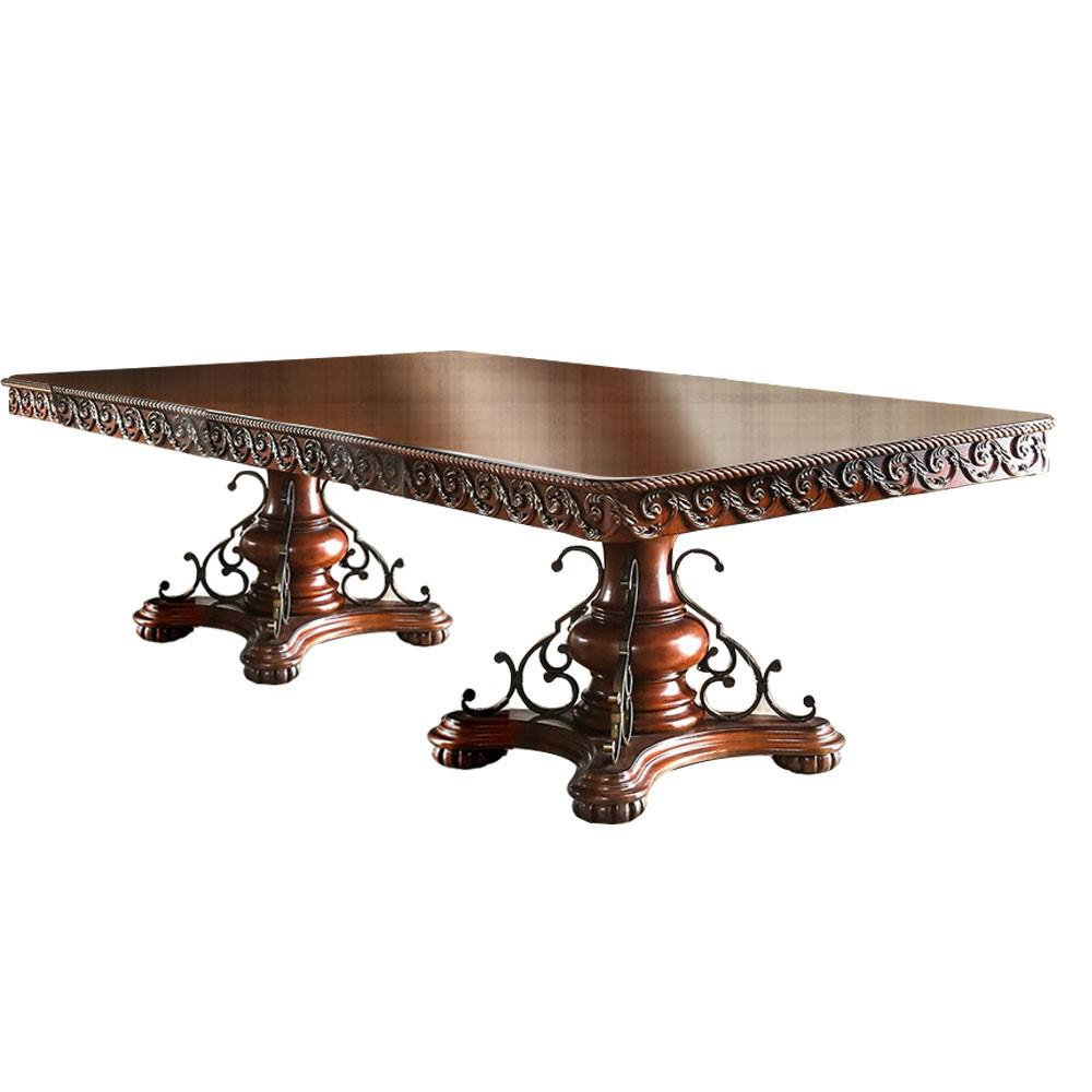 Williams Home Furnishing Lucie Brown Cherry Table