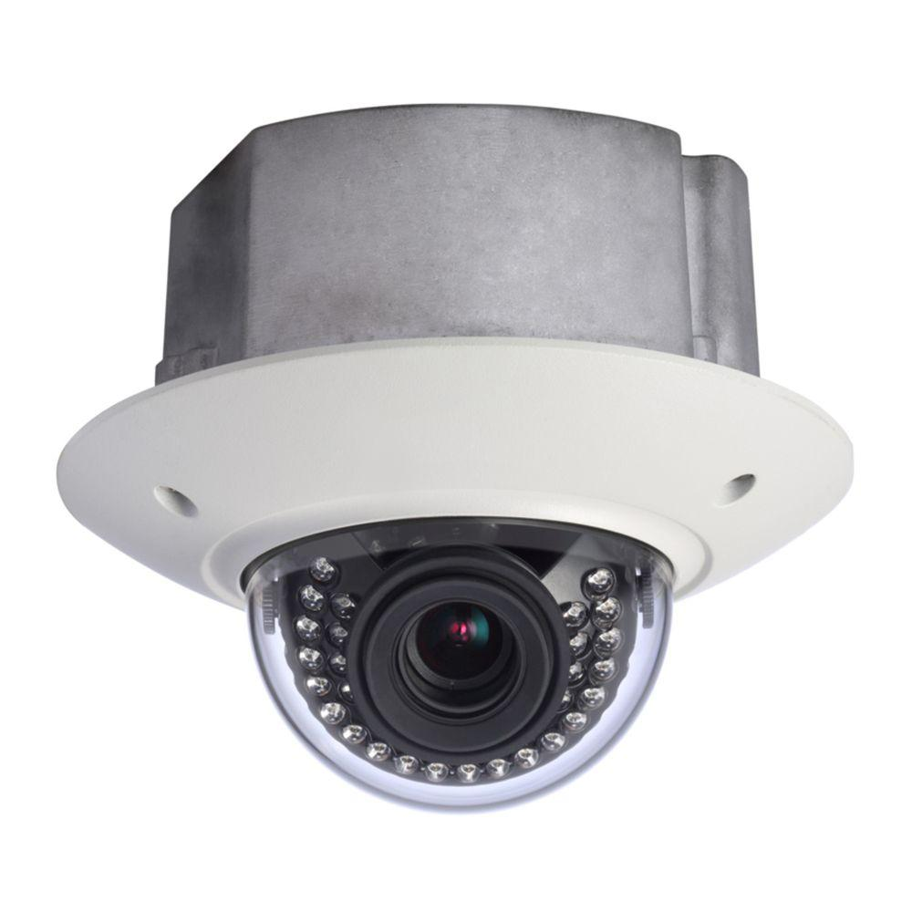 SeqCam Wired 3 Megapixel Full HD Vandal-Proof IR Network In-Ceiling Dome Indoor or Outdoor Standard Surveillance Camera
