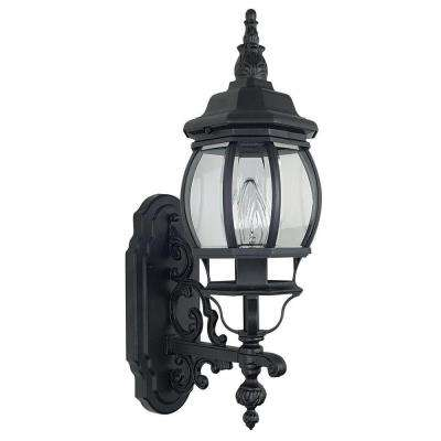 Biswell 1-Light Black Outdoor Wall Lantern