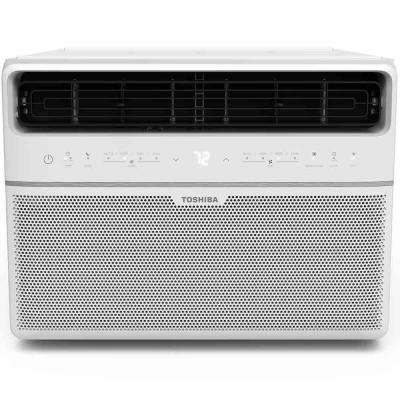 10,000 BTU 115-Volt Smart Wi-Fi Window Air Conditioner with Remote and ENERGY STAR