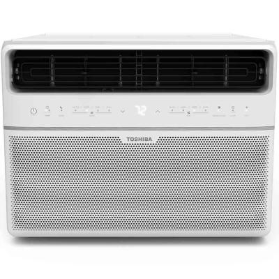 10,000 BTU 115-Volt Smart Wi-Fi Window Air Conditioner with Remote and ENERGY STAR in White
