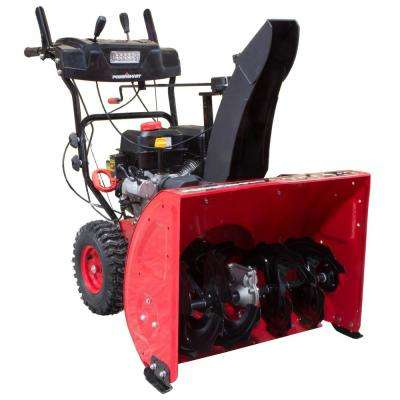 27 in. 212 cc 2-Stage Electric Start Gas Snow Blower