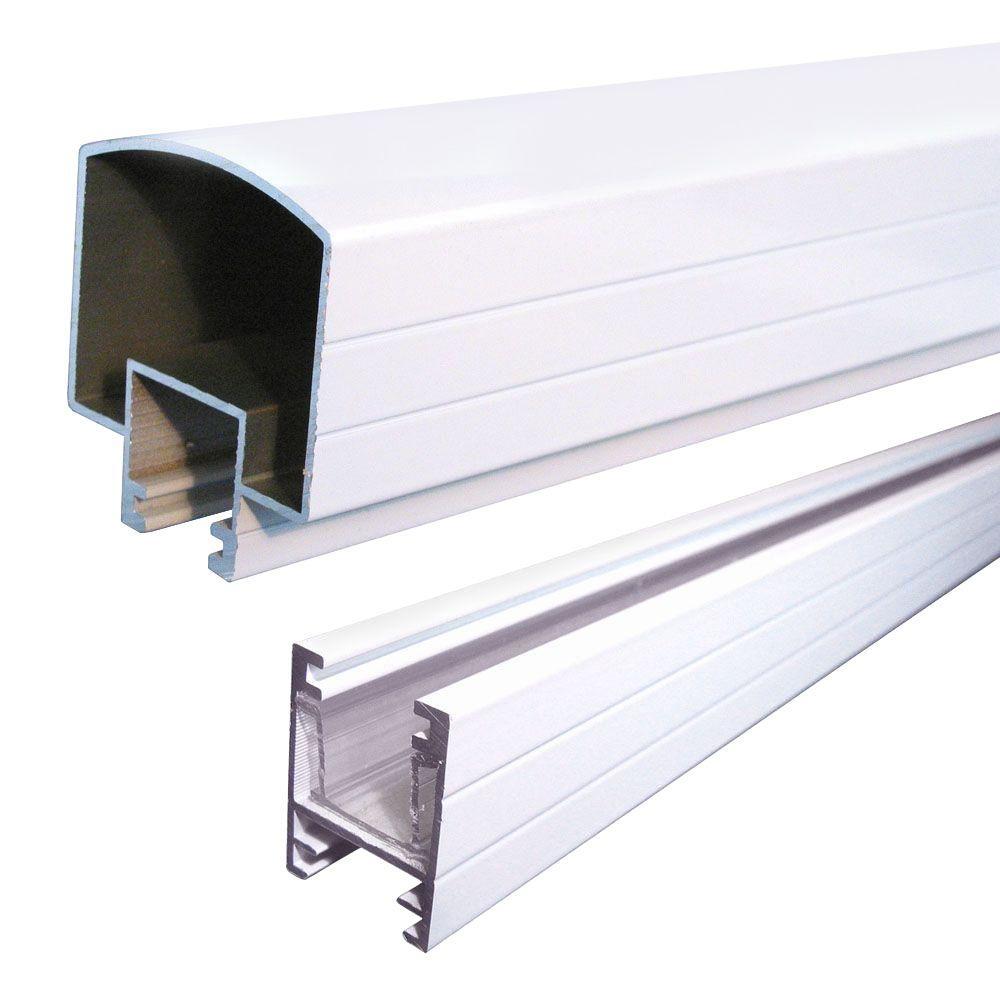 Peak Aluminum Railing 6 Ft Aluminum Hand And Base Rail In