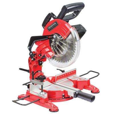 15 Amp 10 in. Compound Miter Saw with Laser Guidance System