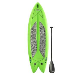 Lifetime Green Freestyle Paddleboard with Paddle by Lifetime