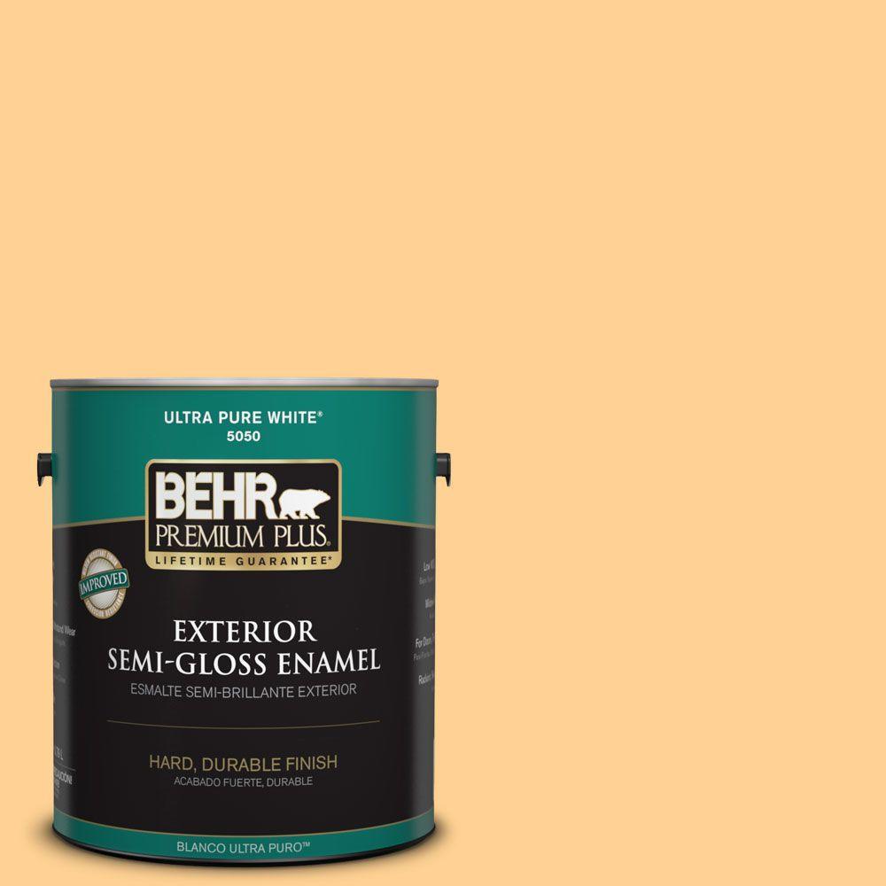 1-gal. #HDC-SP14-7 Full Bloom Semi-Gloss Enamel Exterior Paint