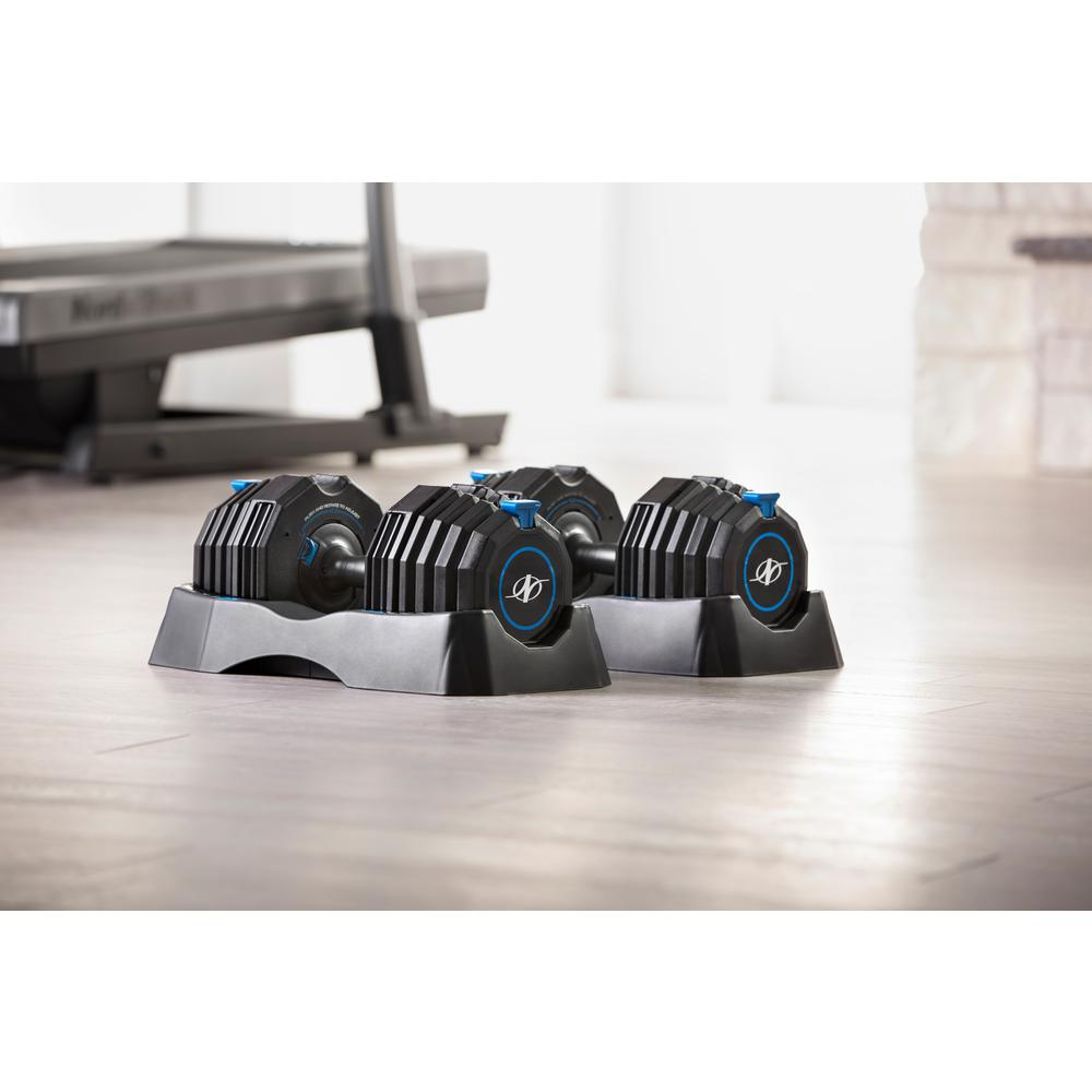 NordicTrack 55 lb. Select-a-Weight Adjustable Dumbbell Set