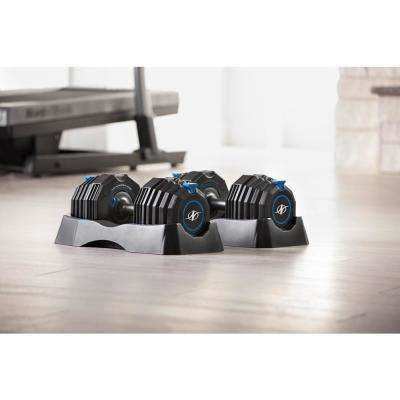 55 lb. Select-a-Weight Adjustable Dumbbell Set