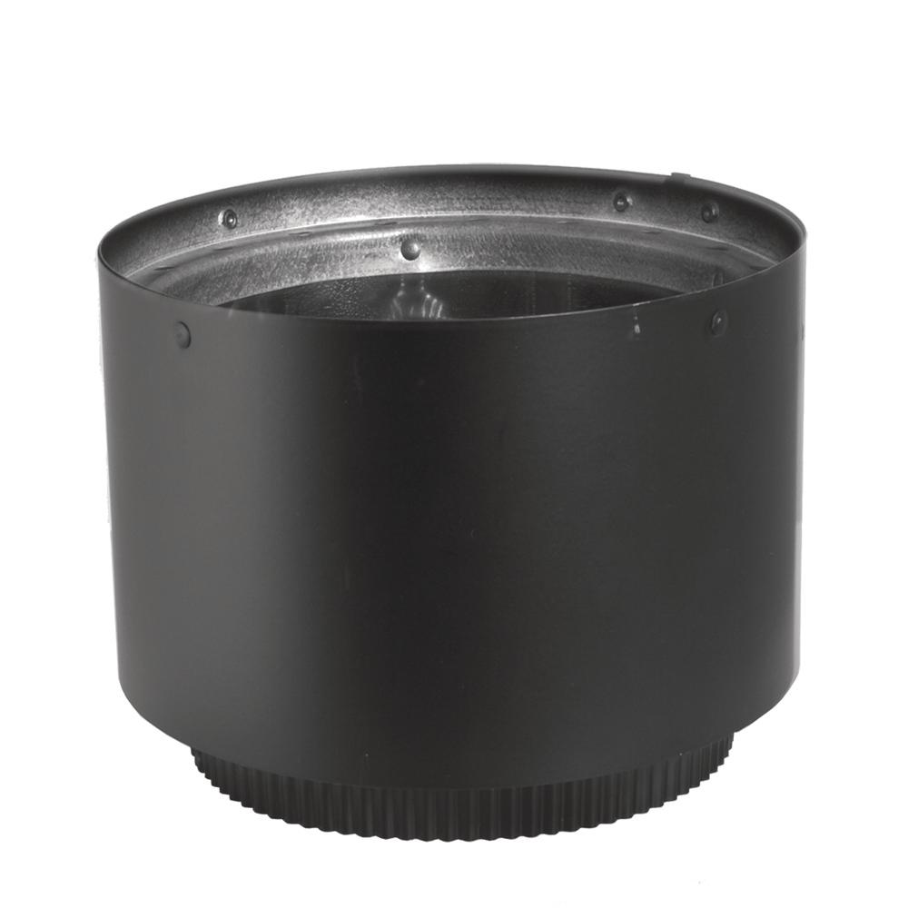 DuraVent DVL 6 in. Adapter Section in Black