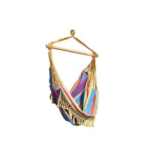 2.5 ft. Brazilian Style Cotton Hammock Chair in Tropical