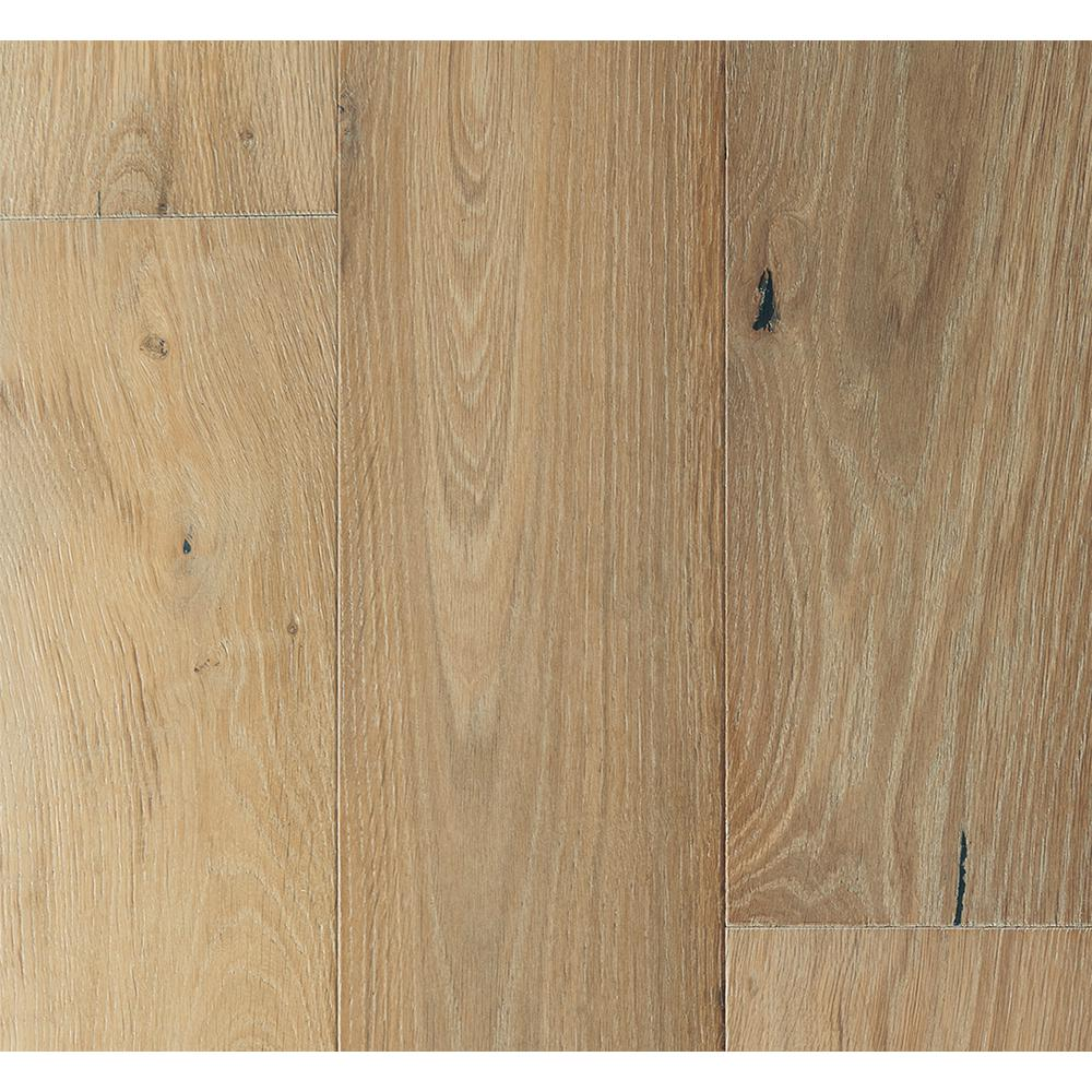 Malibu Wide Plank French Oak Belmont 3/8 in. T x 6-1/2 in. W x Varying Length Engineered Click Hardwood Flooring (945.50 sq. ft. / pallet)