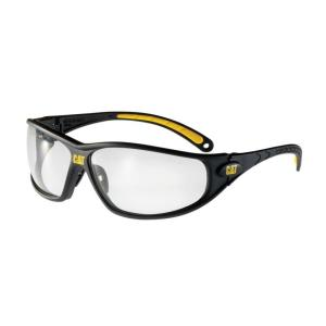 Caterpillar Safety Glasses Tread Clear Lens with Case by Caterpillar