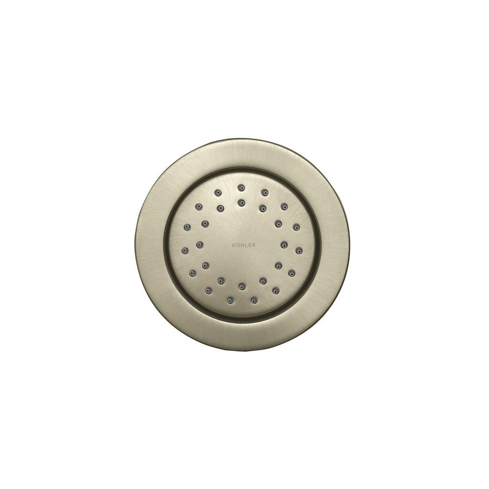 KOHLER WaterTile 4.875 in. 1-spray Single Function Round 27-Nozzle ...