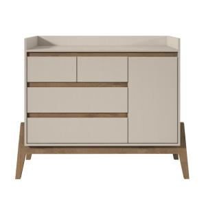 Manhattan Comfort Essence 49-in Wide 4-Drawer Off White Dresser Deals
